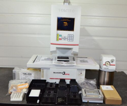 Tomtec Quadra 3 SPE 300-205 Series Liquid Handler with Accessories