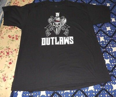 d9a517a0 Men's ADDIX Wrestling Shirt INDIANA OUTLAWS size LARGE