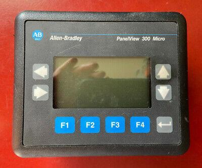 Allen Bradley 2711-m3a19l1 Ser A Panelview 300 Micro Touchscreen Keypad