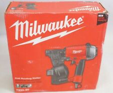 New Milwaukee 7220 20 Pneumatic Coil Roofing Nail Gun Air