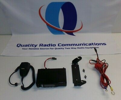 Motorola Radius M1225 45 Watt 450-470 Mhz Uhf Two Way Radio W Mic M44dgc90j2aa