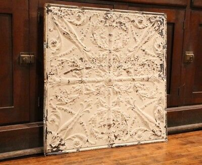 Antique Metal Tin Ceiling Tile 24