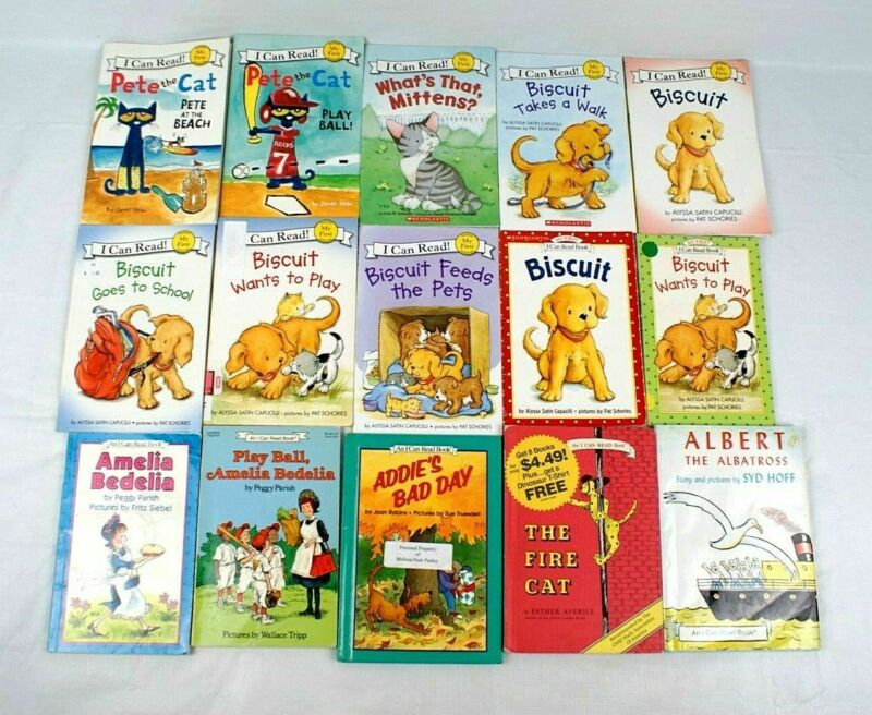 Lot of 15 Children's - I can Read Level Readers Level My First. HC + PB