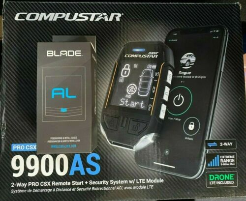COMPUSTAR PRO CSXP9900AS 2-Way Alarm Remote Start iDatalink Blade AL Long Range