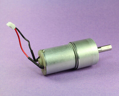 12 Vdc Gear Motor 520rpm 12vdc Works As Low As 3vdc Approx. 100 Rpm