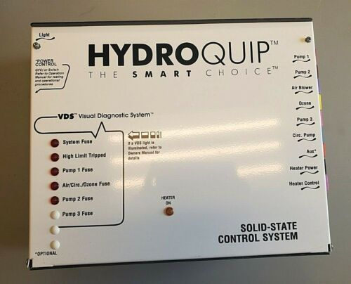 Hydroquip cs9709-us HQ-9000E Solid State Hot Tub Control Board System VDS