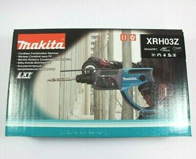 Makita Lxt Xrh03z Lithium-ion Cordless 78 Rotary Hammer Brand New