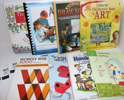Lot 9 Sonlight home school books electives teachers manual Story Orchestra $202