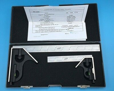Igaging 34-212-26 6 And 12 Combination Square Boxed Set