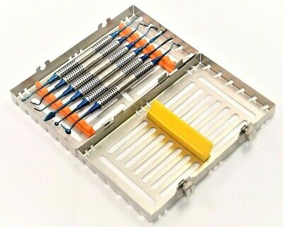 German Dental Composite Filling Instrument Titanium Restorative Kit W Cassettes