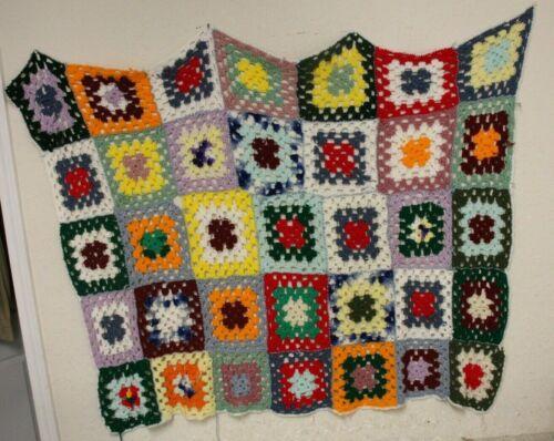 Vintage Handmade  Afghan Throw Blanket 40