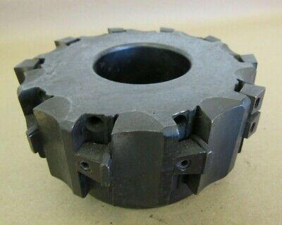 5 Valenite Indexable Face Mill Cutter 1.5 Arbor Vmm91-4-0510ra Val-u-mil