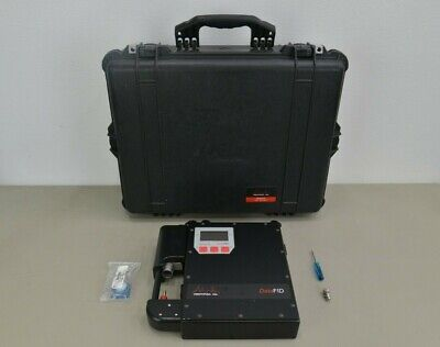 Photovac Datafid Portable Flame Ionization Detector W Power Supply Case