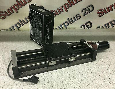 Parker 506101s-1p0 Linear Positioning Table W Parker Compumotor S6 Driver