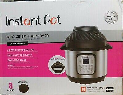 Instant Pot Duo Crisp Air Fryer-8 Quart-11-n-1