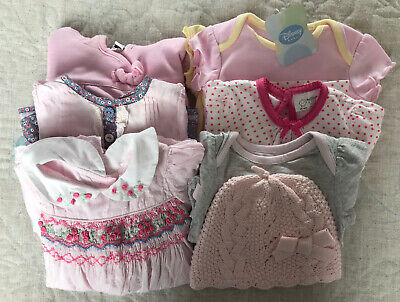 Baby Girl Summer Clothes Bundle 0-3 Months