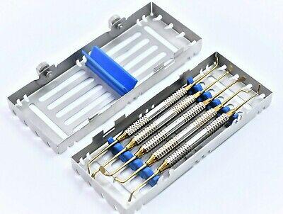 German 5 Pcs Sinus Lift Instruments Set Kit Implant Dental Dentistry Cassette