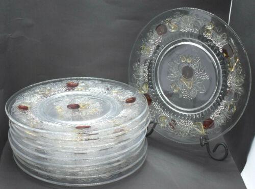 Westmoreland Della Robbia Lunch Plates Set of 10 Fruit Motif