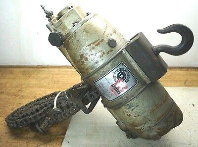 Keller Toolsgardner Denver 1 Ton Air Pneumatic Chain Hoist