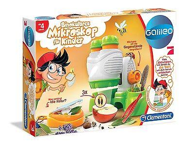 ileo Binokulares Mikroskop für Kinder,Lernspiel (Mikroskop Für Kinder)
