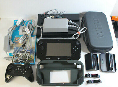 Wii U Console Deluxe | Gamepad, ProController + Breath of The Wild | WUP-101(02)