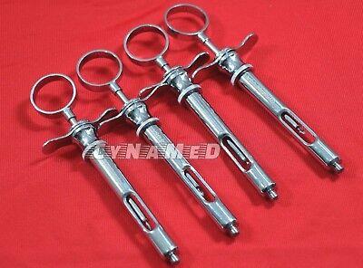 4 Premium Dental Anesthetic Syringe Self-aspirating 1.8cc-dental Instruments-a