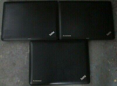 """Lot of 3 Lenovo ThinkPad x131e 11.6"""" AMD E2-1800 1.7Ghz 4GB RAM 320GB HDD *READ*"""