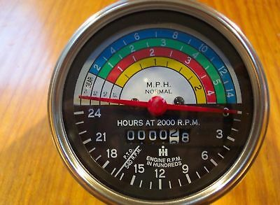 International-ih-farmall Tractor Tachometer--gauges.new