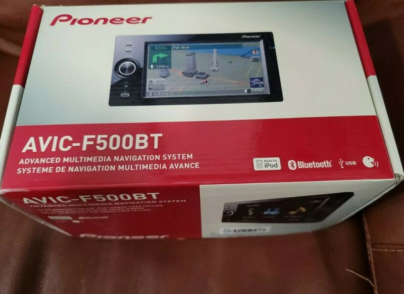 GORGEOUS Pioneer AVIC-F500BT Advanced Multimedia GPS Navigation System MSRP $699