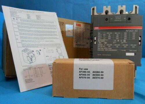 ABB AF305-30-11-13 CONTACTOR 100-250V 50/60HZ NEW