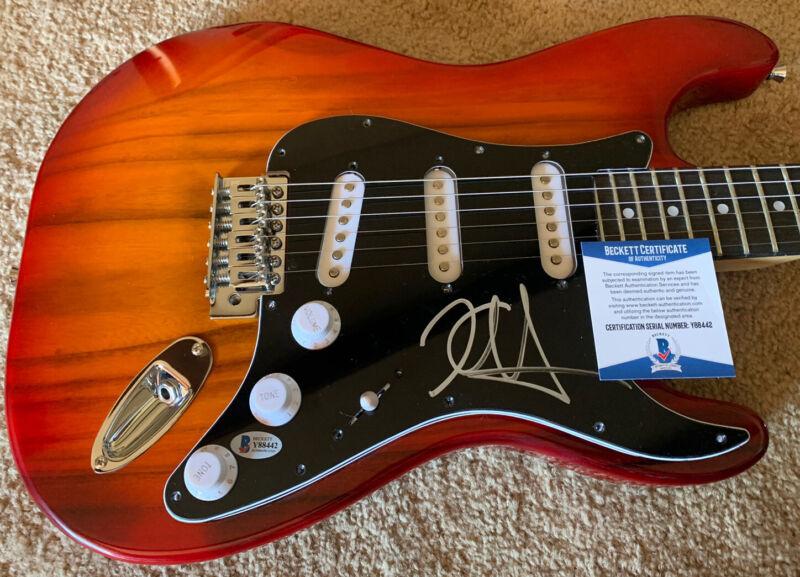 Metallica Kirk Hammett Signed Autographed Guitar Beckett Certified