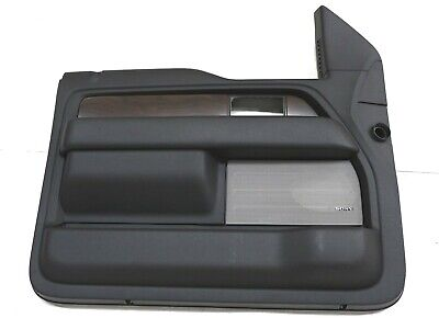 NEW OEM Ford Driver Front Door Trim Panel Charcoal CL3Z-1823943-AC F-150 2012-14 Door Panel Package