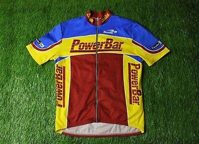 RARE CYCLING SHIRT JERSEY MAGLIA TRIKOT CAMISETA POWER BAR BIEMME SIZE L 954a846d6