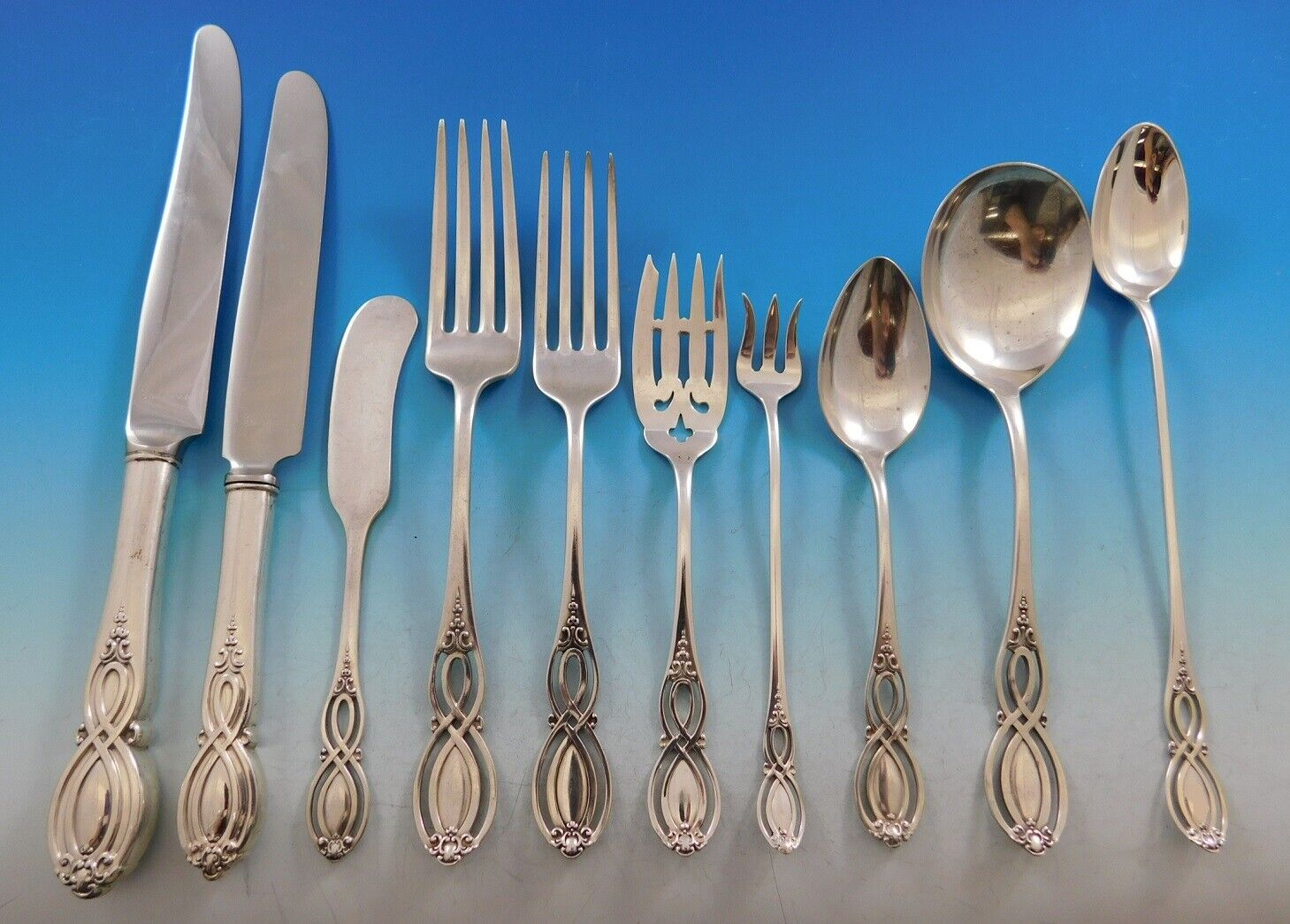 Chippendale by Gorham Sterling Silver Place Soup Spoon 7 12