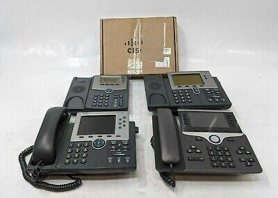 Cisco Various Ip Phones 7965spa504g7942 - Lot Of 5 - Jl0021
