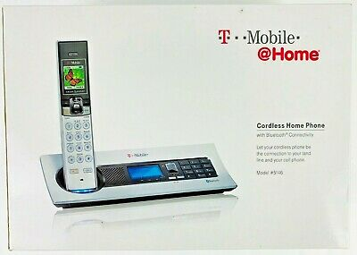 Bluetooth Digital Cordless Phone - VTech T-Mobile VT5146 Cordless 5.8 Digital Phone System Bluetooth VT 5146