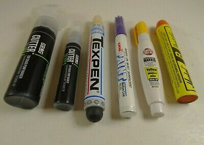 Paint Marker Lot Of Grog Cutter Dalo Dykem Texpen Markal Paint Stik Graffiti