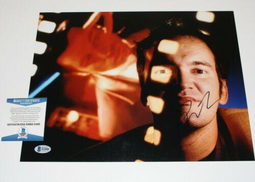 DIRECTOR QUENTIN TARANTINO SIGNED 11x14 MOVIE PHOTO BECKETT COA PULP FICTION