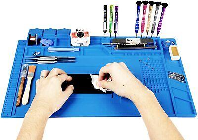 Desktop Rubber Esd Anti-static Hi-temp Grounding Mat For Electronics Repair