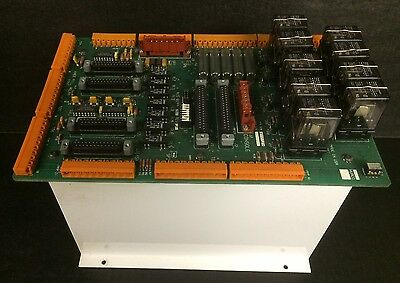 Hurco Knee Mill Relay Board 415-0144-901 Rev B Panel 2 From A Working Machine