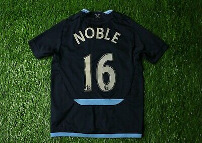 WEST HAM UNITED NOBLE 2009/2010 FOOTBALL SHIRT JERSEY AWAY UMBRO ORIGINAL YOUNG image