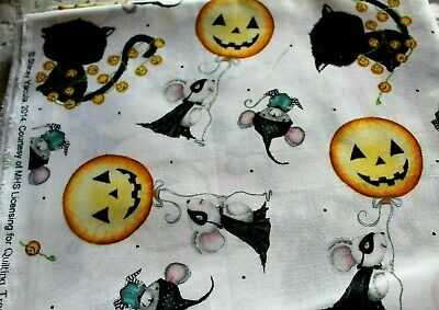 Charmed Cute Halloween Fabric Stacey Yulca Quilting Treasures 2014