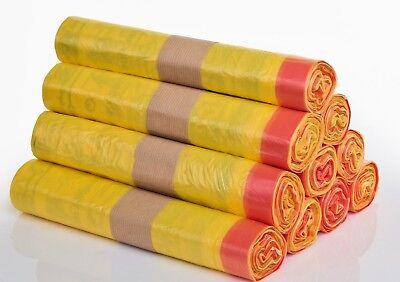 Gelbe Säcke / Gelber Sack - 10 Rollen = 130 Stück Gelbe 10