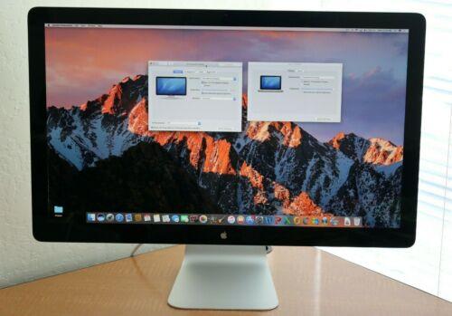 "Apple MC914LL/A 27"" Thunderbolt Display Monitor A1407 Widescreen 2560 X1440"