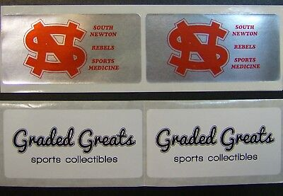 Printed Stickers 500 Custom 1 X 2 Rectangle Business Labels 1-color Ink Roll