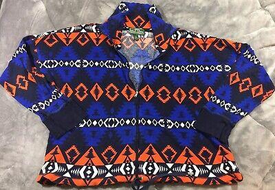 Lauren Active Ralph Lauren L-RL  Women Aztec Full Zip Jacket Thermal Size L