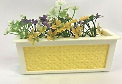 Vintage Barbie A Frame Dream House Flower Planter Boxes Beds Replacement 1978