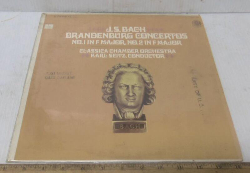 J S Bach - Brandenburg Concertos No. 1 &  2 in F Major
