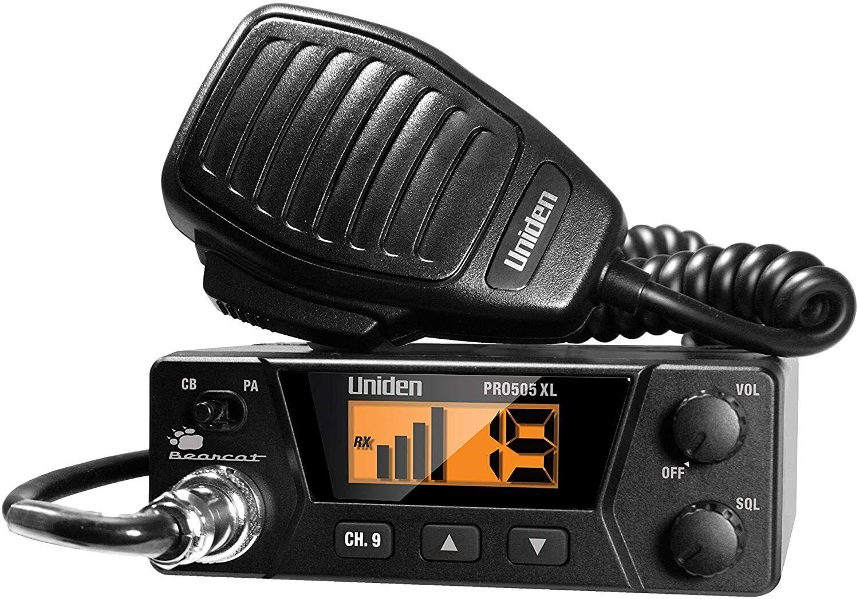 40-Channels Bearcat Compact Radio and Tram 703-HC Antenna Ki