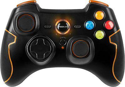 Speedlink Gamepad für PC PS3 kabellos Playstation 3 Controller 5-1-2-9572 TORID  ()